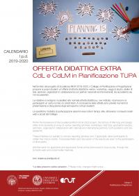 Polito Calendario 2020.Dist Offerta Didattica Extra Del Cdl E Cdlm In